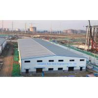 Quality Painting Surface Metal Warehouse Buildings / Steel Structure Factory Building Steel Cladding Sheet for sale