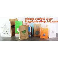 Quality Customize Translucent Window, Brown Greaseproof Kraft Paper Bag, Special Opp Window Bag, window bags, paper window bags for sale