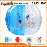 Buy cheap Transparent Inflatable Bubble Ball / Inflatable Zorb Ball Large Hot Air Welded product