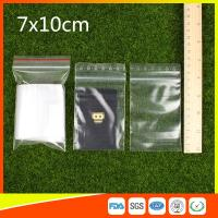 Buy cheap Small Resealable Plastic Bags / Small Zipper Pouch / Small Zipper Bags product