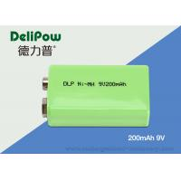 Quality 6F22 High Capacity 9v Rechargeable Battery For Emergency Light for sale