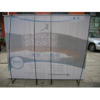 Quality Retractable 150gPVC Roll UP Portable Cheap Steady L - Banner Stand For Church for sale