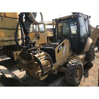 Quality CAT 416E Timberbackhoe Wheel Loader Enclosed Cabin 2010 Year 3778 Work Hours for sale