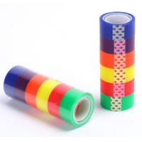 Quality printed stationery bopp printed packing tape for decoration,Stationery BOPP adhesive Tape Office Tape with SGS Certifica for sale