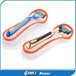 Colorful Metal Handle Multi / Single Blade Razor For Men Gromming Shaving
