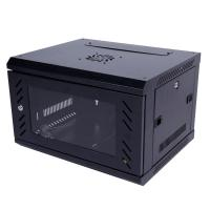 Quality Wall Mount 6u Server Rack Cabinet Sliding Shelf Cold Rolled Steel Plate for sale