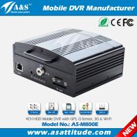 4CH SD Card & Hard Disk School Bus Mobile DVR With Optional GPS 3G/4G