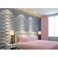 Quality 3D Wood Texture Wall Paper 3D Wall Tile for Kitchen / Living Room / Bedroom Wall Decoration for sale