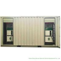 Quality ISO Standard Mobile Gasoline Station Tank Container 20 FT 10000 -20000 Liters for sale