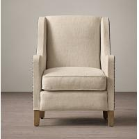 Buy cheap Modern contemporary Fabric Living Room Chairs with kiln - dried hardwood product