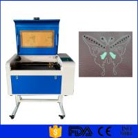 Quality Glass CO2 Laser Engraver , Small Laser Engraving Machine 60W 80W 100W 150W for sale