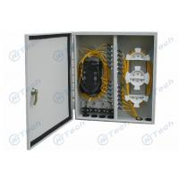 Quality Two Parts Composed Optical Distribution Frame , Outdoor Fiber Distribution Box for sale