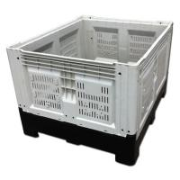 Quality Cunstomzied Color Collapsible Plastic Pallet Containers 700L Capacity 43kg Weight for sale