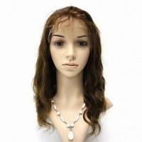 China Full Lace Remy Human Hair Wig #HW1012 on sale