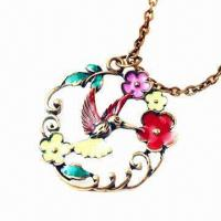 Quality Metal Necklace with Bronze Plating  for sale