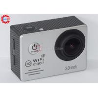 Buy cheap Multi Language WIFI Action Camera For Motorcycle , HD DV 1080p Sports Camera product