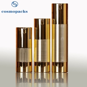 Quality 15ml 30ml 50ml hide Away Inner Pump Cosmetic Bottles For Travel for sale