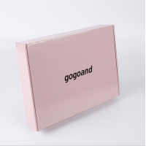 China Wholesale custom logo foldable pink corrugated product packaging box aircraft box mail shipping box on sale