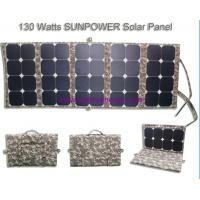 Quality Good for emergency *130W portable powerful solar charger for sale