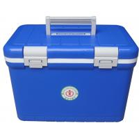 Quality Lightweight Plastic IBC Container Cooler Box Medical Carriers 12L For Transportation for sale
