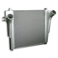 Quality Automobile Charge Air Cooler Finned Tube Heat Exchanger / Bar and Plate Structure Aluminum  for sale