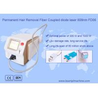 Quality Permanent hair removal fiber coupled 808nm diode laser beauty machine FD06 for sale
