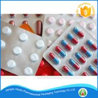 China Capsules Packaging Pharma PTP Aluminum Foil Roll Manufacturer on sale