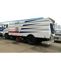 Quality Main Street Road Sweeper Truck 12CBM Dongfeng With Monitor / Rear Camera for sale