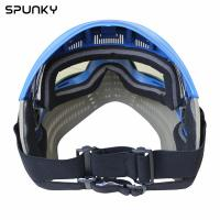 Quality Comfortable Anti Fog Paintball Face Mask With Elastic Adjustable Goggle Strap for sale