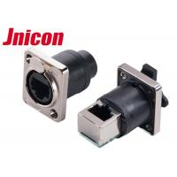 Quality IP44 IP65 Waterproof Data Connector , PowerCon Connector Straight & 90 Degree Panel for sale