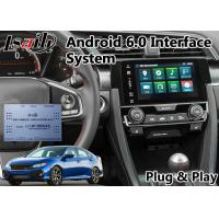 Quality Honda Video Interface for New Civic , Android GPS Navigation with Youtube Mirror link for sale