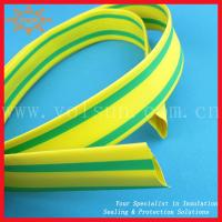 Quality Yellow-green thin wall heat shrinkable tubing for sale