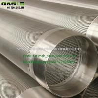 China SUS 304,304L316,316L Water well metal mesh with cylinder shape for well water filter on sale