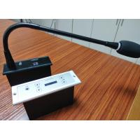 China Portable Audio Conference Microphone With Gooseneck 3.5mm Stereo Headphone Jack on sale