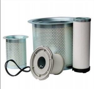 China Standard Stainless Steel Atlas Copco Oil Separator for Atlas Ga Series Air Compressor on sale
