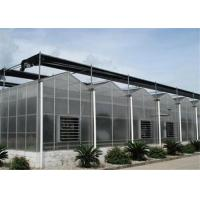 Quality 50 Micron UV Thickness Polycarbonate Greenhouse High Light Transmission for sale