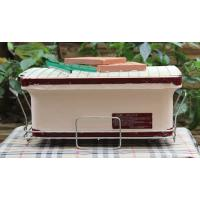 China Portable BBQ Ceramic Cooker Grill , Mini Clay Ceramic Outdoor Grill Custom Made on sale