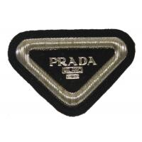 Quality Triangle Bullion Wire Blazer Badges Sew On Embroidered Military Patches for sale
