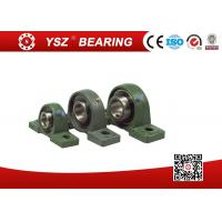 Buy cheap Removal Double Structure Seal Pillow Block Bearings InterChangeable Solid Base UCP202 Steel Cage from wholesalers