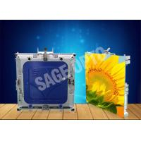 Quality High Resolution 1r1g1b Inside Led Screen Lightweight Aluminum Cabinet for sale
