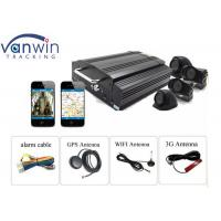 Buy cheap 8 channel 1080P HDD hybrid mobile DVR for vehicle security product