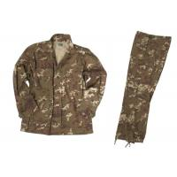 China Snow Camouflage Military Camo Clothing , CVC5050 Tear Resistance Army Camo Outfit on sale