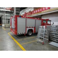 China Special Emergency Rescue Equipment Fire Truck Aluminum Rolling Doors on sale