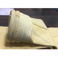 China DN 130 x 6000 mm Industrial Dust Filter Bags Widely Used In Dry GCP System on sale