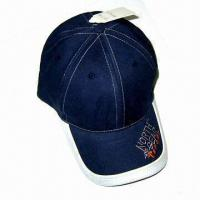 Quality Men's Baseball Cap, Made of 100% Cotton for sale