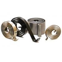 Quality High Hardness Powdered Coated Helical Torsion Spring , Torsion Coil Spring for sale