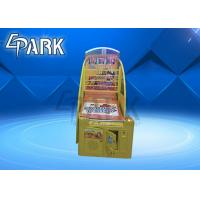 Buy cheap Hardware Material Basketball Shooting Game Arcade Machine For Amusement Park from wholesalers