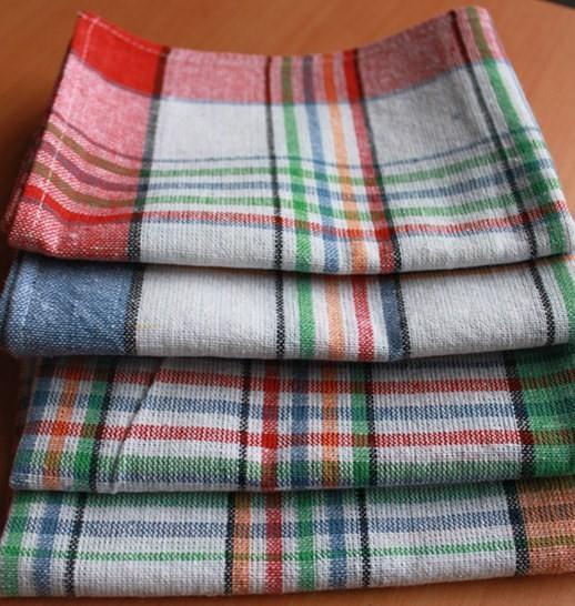 50 70cotton Kitchen Tea Towels Yarn Dyed Plaid Tea Towel