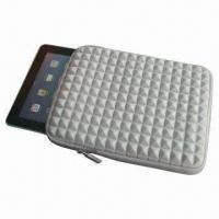 China 2012 Cheap Diamond Sleeve for iPad, Heavy-duty customized Zipper Pulls with Closed-seam Construction on sale