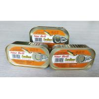 China Lightweight Canned Fish Mackerel , Canned Sardine Fish In Vegetable Oil on sale